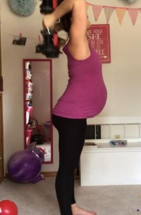 pregnantworkout