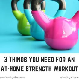 3 Things You Need For An At-Home Strength Workout small