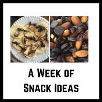 A week of snacks